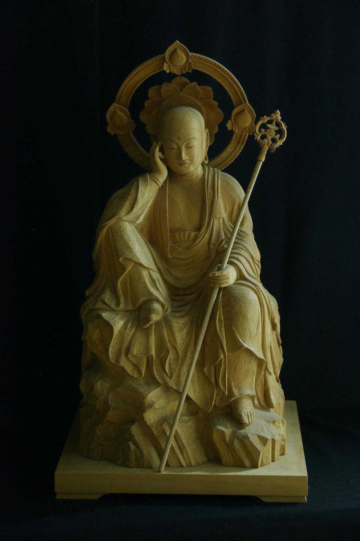 延命地蔵菩薩半跏像